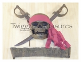 Pirate Sword Wall Plaque-PK-2053