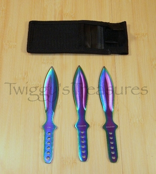 Rainbow Throwers (3 pc. set)-RC-001RB