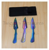 Rainbow Throwers (3 pc. set)-RC-004RB