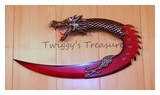 Red Dragon Dagger-FMT-003G-MC