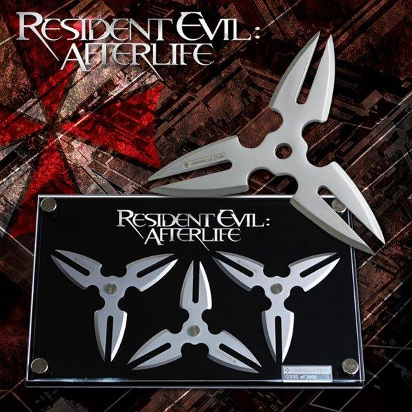 Resident Evil Afterlife Alice S Throwing Star Set Mc Re002 Movie