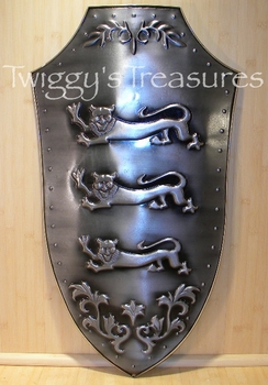 Richard the Lionheart Shield SMA-106-MC