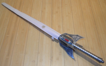 RWBY Cosplay Anime Weiss Schnee Myrtenaster Rapier Sword Anime Cos Prop Weapon-ZS-9543-A