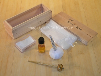 Samurai Sword Cleaning Kit
