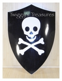 Shield Pirate Jolly Roger<br> U1200S
