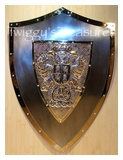 Shield - Two Falcons-Shield of Carlos V-<br>U1001