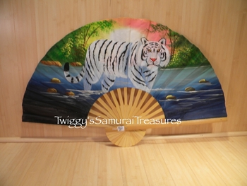 Small White Tiger Fan 226