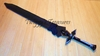 Sword Art Online Anime-Kirito Kirigaya Kazuto Sword Dark Repulser Weapon Cosplay-KL837-WJ