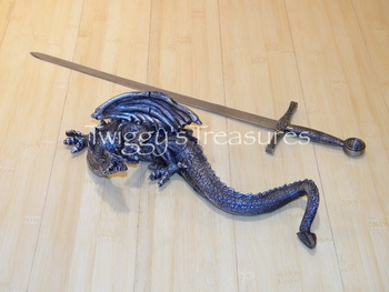 Sword with Dragon(wall mount) HK555