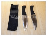 Throwing Knives Set of 2<br> A4202
