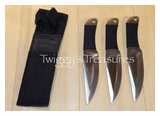 Throwing Knives Set of 3<br> A4303