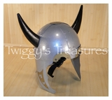 Viking Helmet with 2 Horns