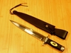 Expendables 2 Toothpick & Leather Sheath-GH-5038