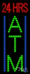 24 Hrs ATM LED Sign