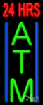 24 Hrs ATM Business Neon Sign