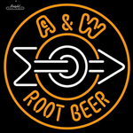 A&W Root Neon Sign