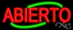 Abierto Economic Neon Sign