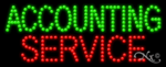 Accounting Service LED Sign