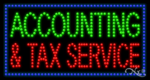 Accounting & Services LED Sign