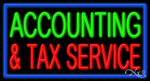 Accounting & Services Business Neon Sign