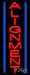 Alignment Business Neon Sign