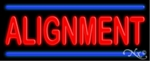 Alignment Neon Sign