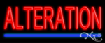 Alteration Economic Neon Sign