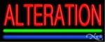Alteration Neon Sign