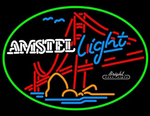 Amstel Light Golden Neon Sign