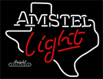 Amstel Light map Neon Sign