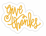 Give Thanks Neon Sign