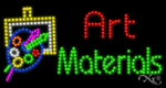 Art Materials LED Sign