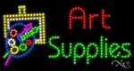 Art Supplies LED Sign