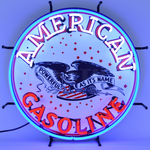 Auto Gas American Gasoline Neon Sign