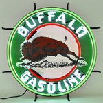 Auto Gas Buffalo Gasoline Neon Sign