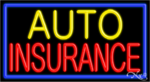 Auto Insurance Business Neon Sign