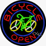 Bacycle LED Sign