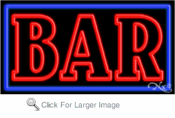 Bar Business Neon Sign