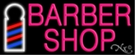 Barber Shop Hair Neon Sign