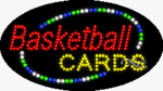 Basketball Cards LED Sign