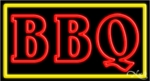 BBQ Double Stroke Neon Sign