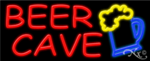 Beer Cave Business Neon Sign