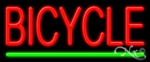 Bicycle Economic Neon Sign
