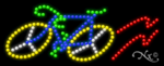 Bicycle Logo LED Sign