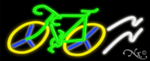 Bicycle Logo Business Neon Sign