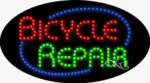 Bicycle Repair LED Sign