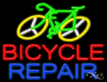 Bicycle Repair Business Neon Sign