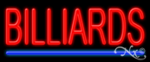 Billiards Economic Neon Sign