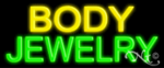 Body Jewelry Economic Neon Sign