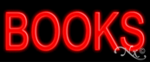 Books Economic Neon Sign